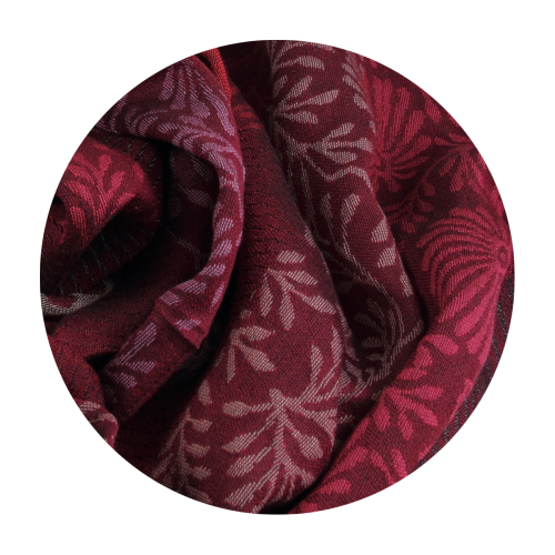Scarf-woman-charme-wool-silk-red-pink
