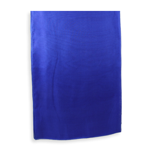Stole-Silk-chiffon-made-in-france-Royale-Blue